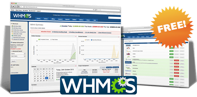 Powerful Business Reseller Hosting ( Free WHMCS )